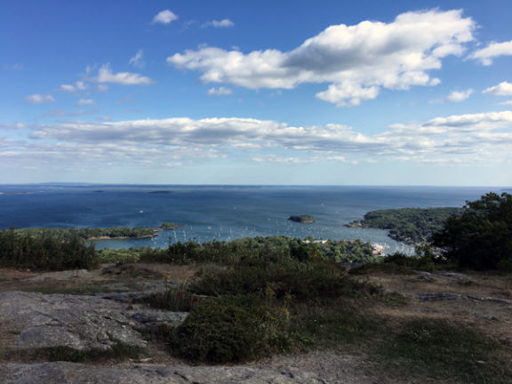 Camden from Mt. Battie